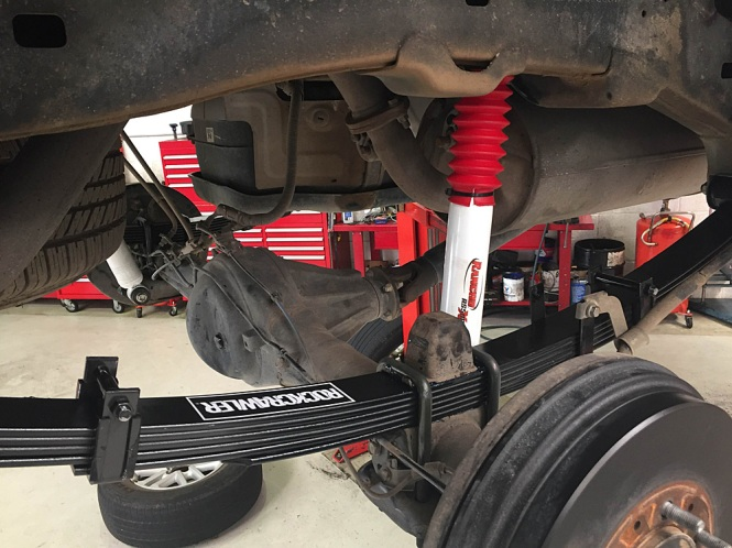 rancho rs5000 shock installation instructions